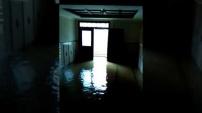 Alanya'da apartmanları su bastı!
