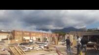 Alanya'da mobilya dükkanı yandı