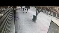 Alanya'daki feci kaza saniye saniye güvenlik kameralarında