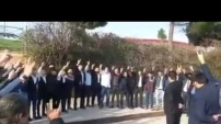 Alanyalı Ülkücüler Antalya'da şov yaptı
