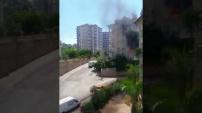 Cikcilli'de yangın paniği