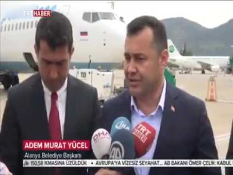 Alanya GZP'deki tarihi gün TRT'de