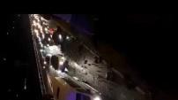 İşte dün gece Alanya'daki feci kazanın görüntüleri