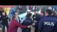 Kestelspor maçında olaylar çıktı
