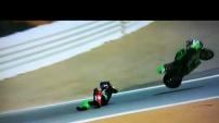 Super Bike'da Toprak kaza geçirdi! İşte herkesi korkutan o anlar