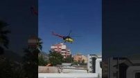 Yücel'den 'Helikopterli' hizmet